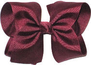 Large Solid Color Bow Beet