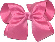 Large Solid Color Bow Colonial Rose