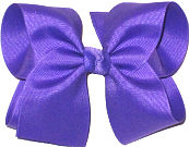 Large Solid Color Bow Delphinium