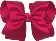 Large Solid Color Bow New Azalea