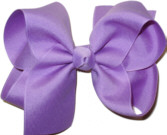 Large Solid Color Bow Orchid