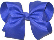 Large Solid Color Bow Pansy