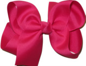 Large Solid Color Bow Sarsaparilla