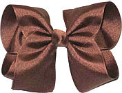 Large Solid Color Bow Turftan