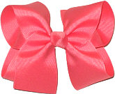 Large Solid Color Bow Watermelon