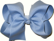 Large Solid Color Bow Wisteria