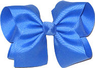 Downsized Large Solid Color Bow Capri