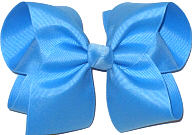 Downsized Large Solid Color Bow Copen
