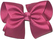 Downsized Large  Solid Color Bow Bow Victorian Rose
