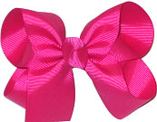 Medium Solid Color Bow Azalea