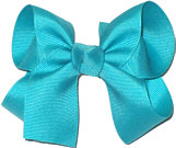 Medium Solid Color Bow Blue Lagoon