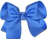 Medium Solid Color Bow Capri
