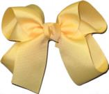 Medium Solid Color Bow Chamois