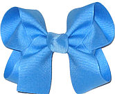 Medium Solid Color Bow Copen