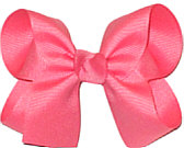 Medium Solid Color Bow Fantasy Rose