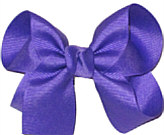 Medium Solid Color Bow Delphinium