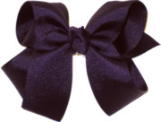 Medium Solid Color Bow Grappa