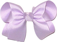 Medium Solid Color Bow Lavender