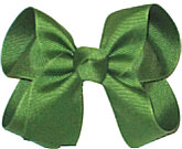 Medium Solid Color Bow Leaf