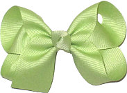 Medium Solid Color Bow Lime Juice