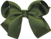 Medium Solid Color Bow Moss