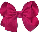 Medium Solid Color Bow New Azalea