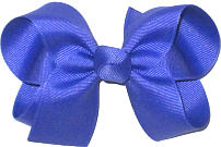 Medium Solid Color Bow Pansy