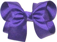 Medium Solid Color Bow Regal