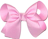Medium Solid Color Bow Wild Orchid