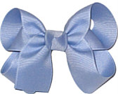 Medium Solid Color Bow Wisteria