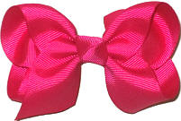Toddler Solid Color Bow Azalea
