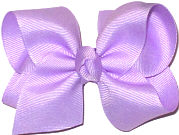 Toddler Solid Color Bow Light Orchid