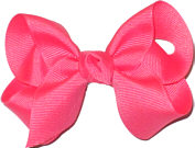 Toddler Solid Color Bow Watermelon