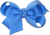 Small Solid Color Bow Capri
