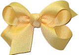 Small Solid Color Bow Chamois