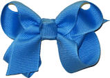 Small Solid Color Bow Copen