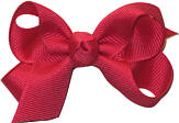 Small Solid Color Bow French Pink