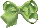 Small Solid Color Bow Lime Juice