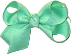 Small Solid Color Bow Mint