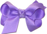 Small Solid Color Bow Orchid