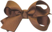Small Solid Color Bow Turftan