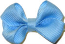 Infant Solid Color Bow 312 Blue