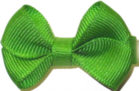 Infant Solid Color Bow Apple Green