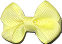 Infant Solid Color Bow Baby Maize