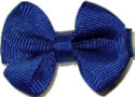 Infant Solid Color Bow Century Blue