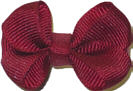 Infant Solid Color Bow Currant
