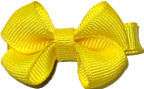 Infant Solid Color Bow Maize