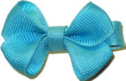 Infant Solid Color Bow Navajo Turquoise