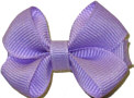 Infant Solid Color Bow Light Orchid