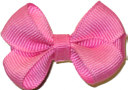 Infant Solid Color Bow Pink